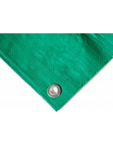 Тент (брезент) 10х18м синий/зеленый