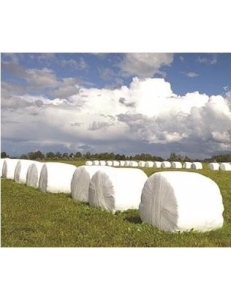 Стрейтч пленка для упаковки рулонов сенажа 25мкм (500мм/1800м)