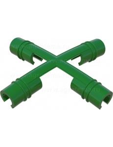 Соединитель-крестовина (по 6 шт. в упак.) для дуг d10-12мм.