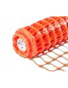 Аварийное ограждение арт. А-90/1/50 ячейка: Квадрат 40х90мм Рулон: 1х50м, Оранжевый